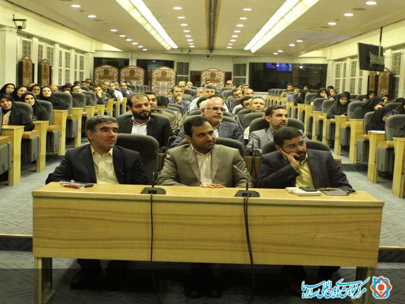مراسم معارفه مدیر کل روابط عمومی رسانه ملی